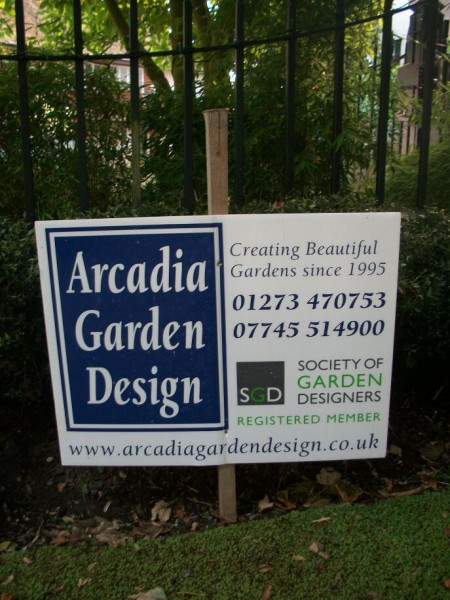 A court yard garden By Arcadia Garden Design and their Landscapers.